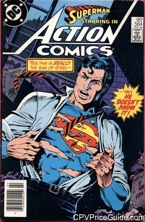 action comics 564 cpv canadian price variant image