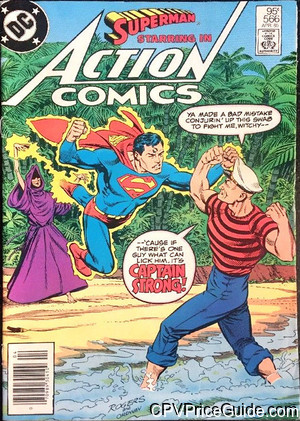 action comics 566 cpv canadian price variant image