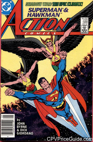 action comics 588 cpv canadian price variant image