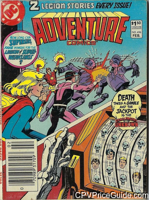 adventure comics 496 cpv canadian price variant image