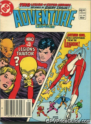 adventure comics 499 cpv canadian price variant image
