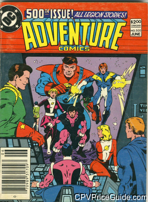 adventure comics 500 cpv canadian price variant image