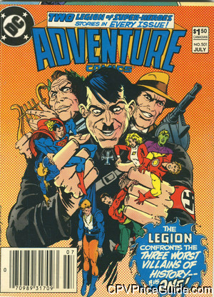 adventure comics 501 cpv canadian price variant image