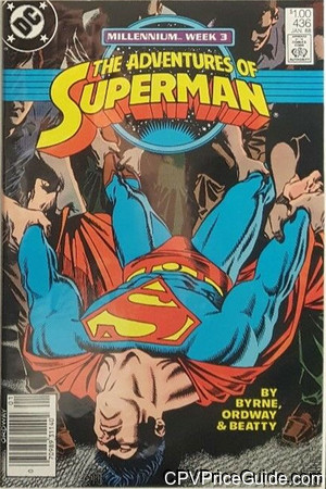 adventures of superman 436 cpv canadian price variant image