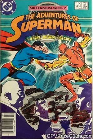 adventures of superman 437 cpv canadian price variant image
