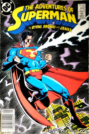 adventures of superman 440 cpv canadian price variant image