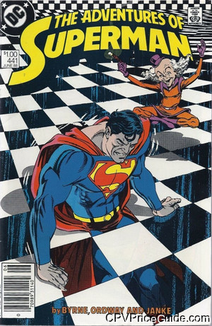 adventures of superman 441 cpv canadian price variant image