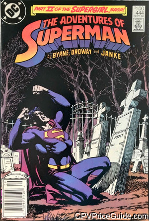 adventures of superman 444 cpv canadian price variant image