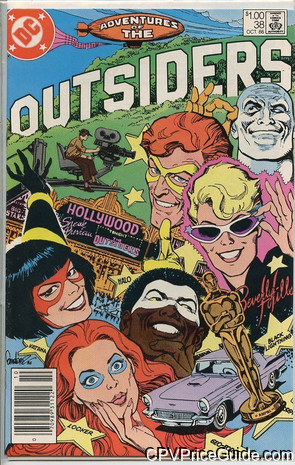 adventures of the outsiders 38 cpv canadian price variant image