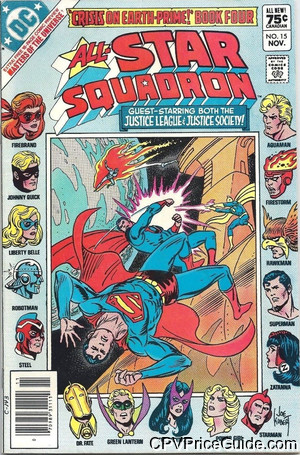 all star squadron 15 cpv canadian price variant image