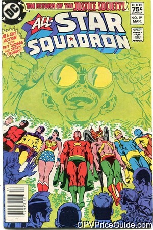 all star squadron 19 cpv canadian price variant image
