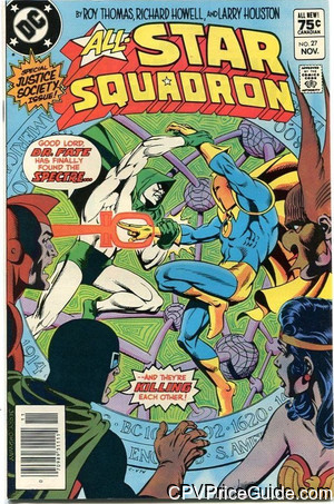 all star squadron 27 cpv canadian price variant image