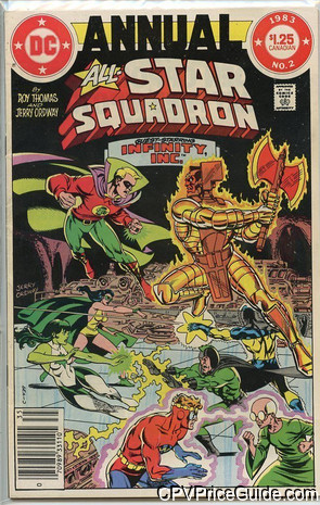 all star squadron annual 2 cpv canadian price variant image