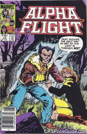 alpha flight 13 cpv canadian price variant image
