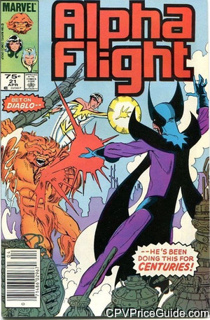 alpha flight 21 cpv canadian price variant image
