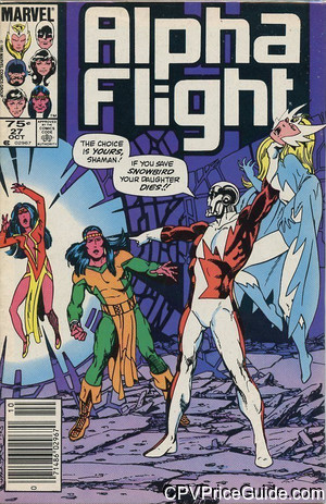 alpha flight 27 cpv canadian price variant image
