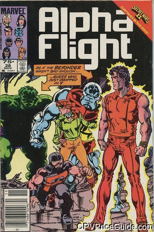 alpha flight 28 cpv canadian price variant image