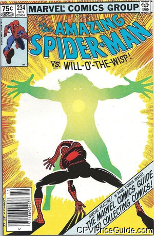 amazing spider man 234 cpv canadian price variant image