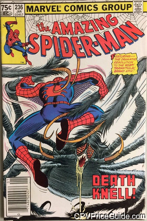 Amazing Spider-Man #236 75¢ Canadian Price Variant Comic Book Picture