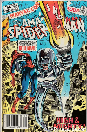Amazing Spider-Man #237 75¢ Canadian Price Variant Comic Book Picture