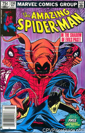 amazing spider man 238 cpv canadian price variant image