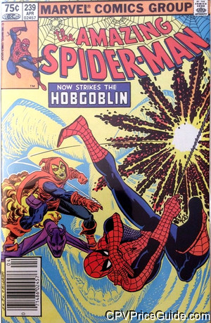amazing spider man 239 cpv canadian price variant image