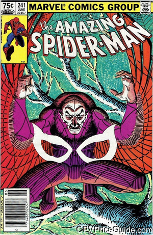 amazing spider man 241 cpv canadian price variant image