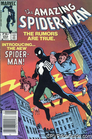 amazing spider man 252 cpv canadian price variant image