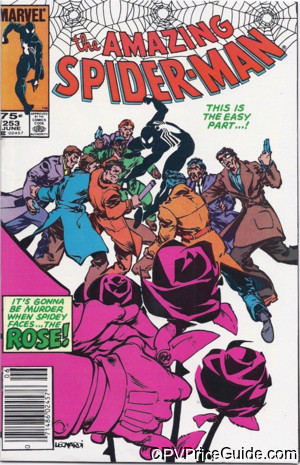 Amazing Spider-Man #253 75¢ Canadian Price Variant Comic Book Picture