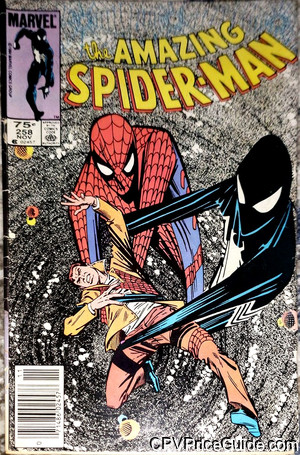 Amazing Spider-Man #258 75¢ Canadian Price Variant Comic Book Picture