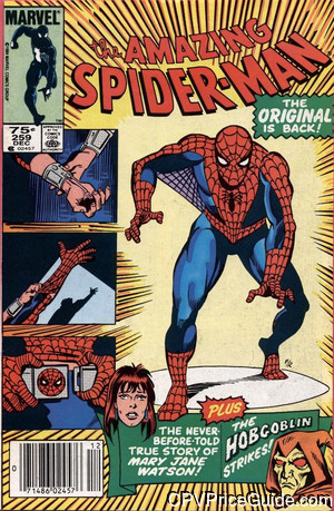 amazing spider man 259 cpv canadian price variant image