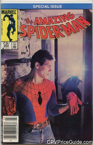 Amazing Spider-Man #262 75¢ Canadian Price Variant Comic Book Picture