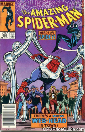 amazing spider man 263 cpv canadian price variant image