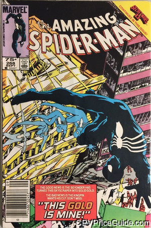 Amazing Spider-Man #268 75¢ Canadian Price Variant Comic Book Picture