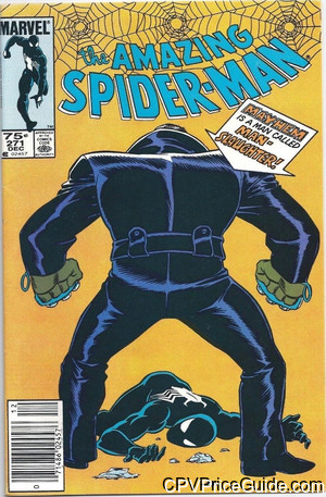 Amazing Spider-Man #271 75¢ Canadian Price Variant Comic Book Picture