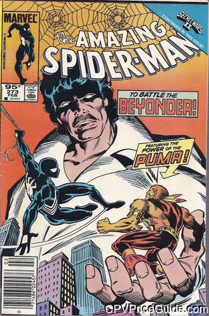 amazing spider man 273 cpv canadian price variant image