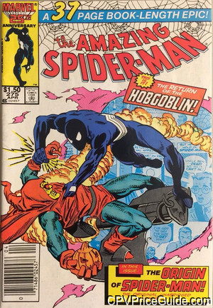 Amazing Spider-Man #275 $1.50 Canadian Price Variant Comic Book Picture