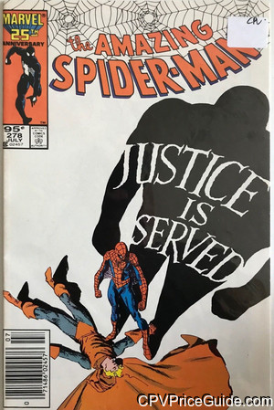 amazing spider man 278 cpv canadian price variant image