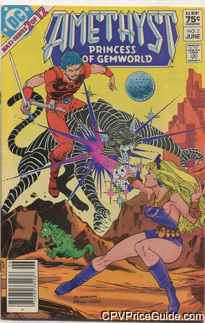Amethyst Princess of Gemworld #2 75¢ Canadian Price Variant Comic Book Picture
