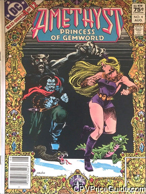 Amethyst Princess of Gemworld #4 75¢ Canadian Price Variant Comic Book Picture
