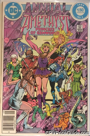 amethyst princess of gemworld annual 1 cpv canadian price variant image