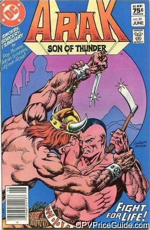 arak son of thunder 22 cpv canadian price variant image