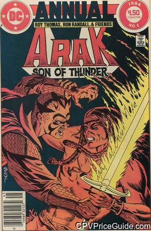 arak son of thunder annual 1 cpv canadian price variant image