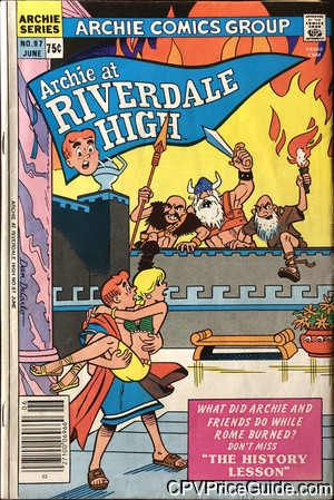 archie at riverdale high 97 cpv canadian price variant image