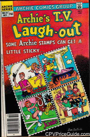 archies tv laugh out 91 cpv canadian price variant image