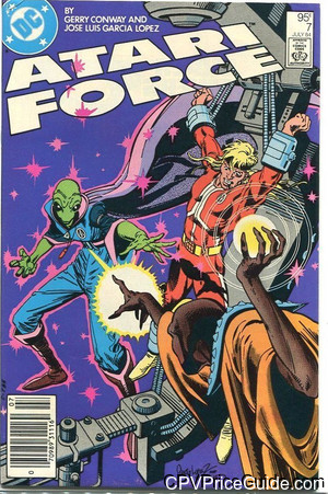 Atari Force #7 95¢ Canadian Price Variant Comic Book Picture