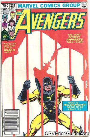 avengers 224 cpv canadian price variant image