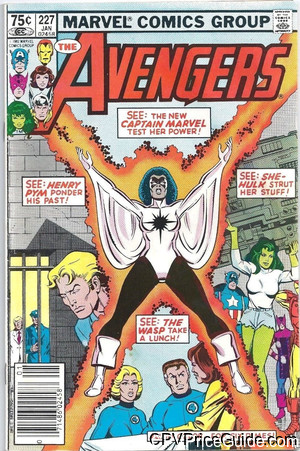 avengers 227 cpv canadian price variant image