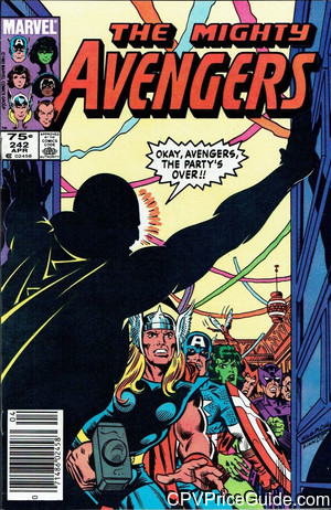 avengers 242 cpv canadian price variant image