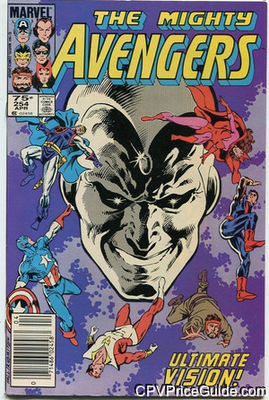 avengers 254 cpv canadian price variant image